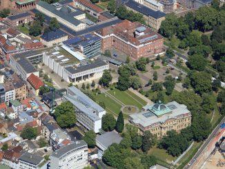 Luftaufnahme vom BGH